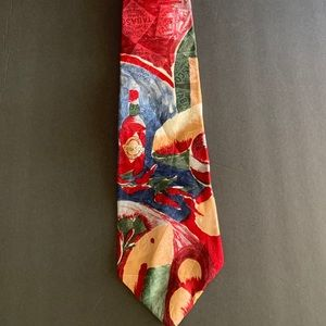 Tabasco Official Tie 100% Silk with Tabasco Bottle